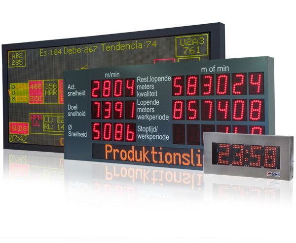 WIBOND LED displays in different versions